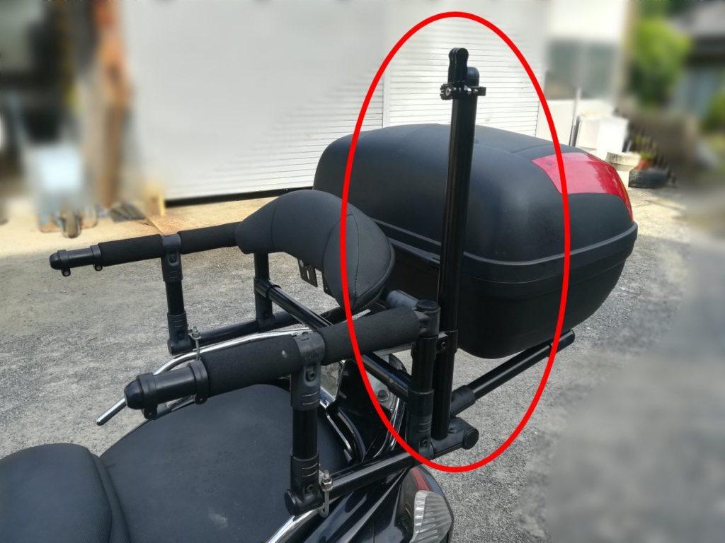 GoPro バイクにマウントさせる